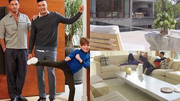 Ricky Martin i jego wieloletni partner Jwan Yosef, armeńsko-syryjski artysta, wzięli ślub. Mieszkają razem w Los Angeles, a ich dom robi wrażenie! Wnętrza są urządzone ze smakiem, dominuje biel. W każdym pomieszczeniu znajduje się dzieło sztuki. Zobaczcie, jak mieszkają. Jest pięknie!