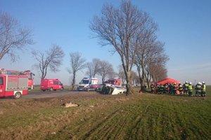 Wypadek busa z dziećmi koło Polkowic. Są ranni