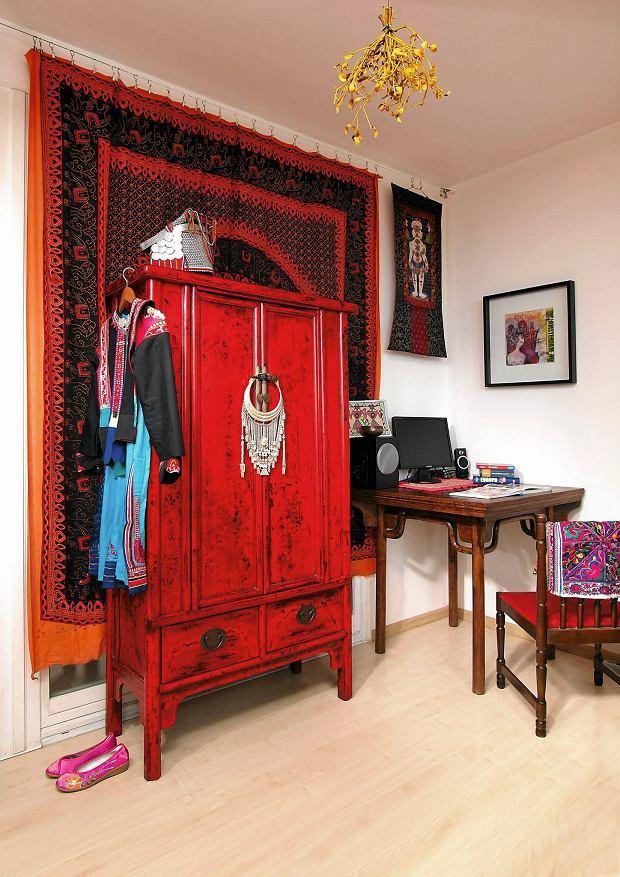 szafa, wystrój wnętrz, wnętrza orientalne