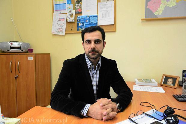 Syryjczyk Shivan Fate w pracy. Od 17 lat mieszka w Polsce