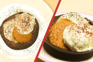 B�yskawiczne tiramisu w miseczkach z czekolady