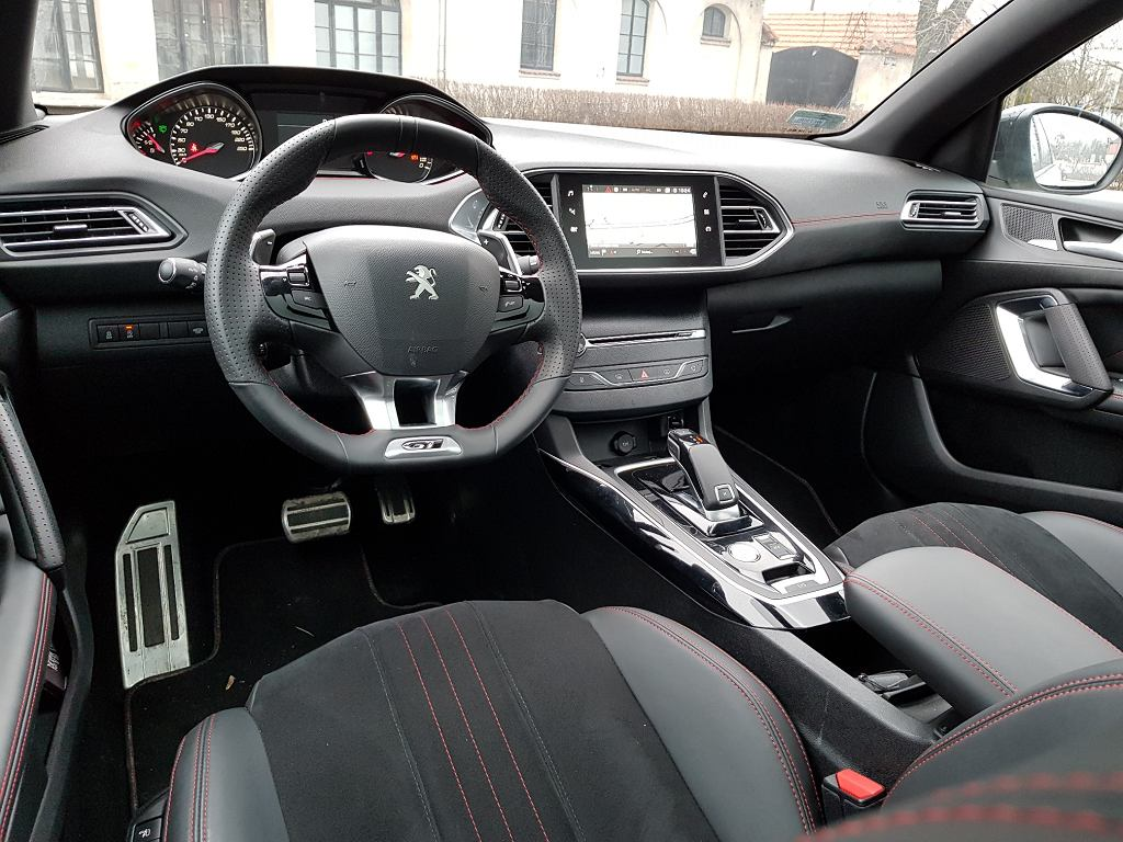 test peugeot 308 sw gt opinia recenzja. Black Bedroom Furniture Sets. Home Design Ideas