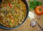 Aromatyczny gulasz z ry�em i warzywami