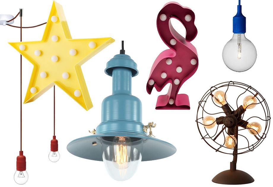 Lampy w stylu garażowym