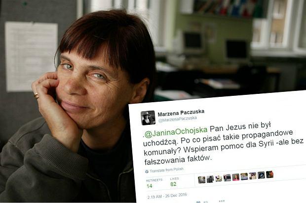 """Szefowa """"Wiadomości"""" przekonuje, że Jezus nie był uchodźcą. A Janina Ochojska na to..."""