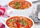 Klasyczna <strong>zupa</strong> <strong>pomidorowa</strong> z <strong>ryżem</strong> białym marki Britta