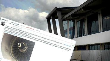 Pochwali� si� na Wykopie, �e na lotnisku w Katowicach ''wrzuci� pr�t do silnika''