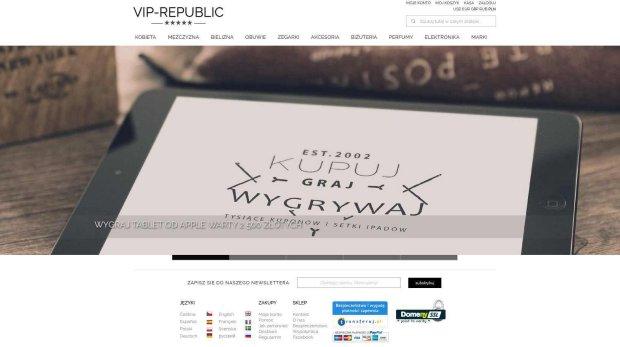 VIP Republic - kolejny podejrzany sklep internetowy?
