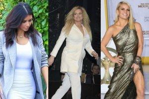 Kim Kardashian, Joanna Liszowska, Jessica Simpson
