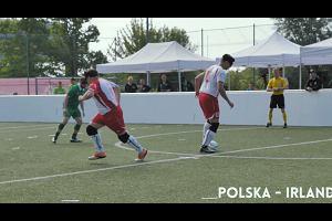 """""""Polska mistrzem Euro jest"""". Mistrzostwa w blind footballu w Krakowie"""