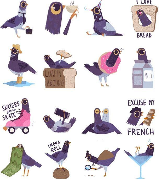 Trash Dove czyli Gołąb z Wysypiska