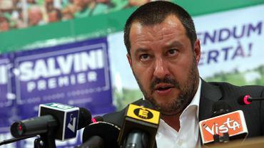 Matteo Salvini, przywódca Ligi Północnej
