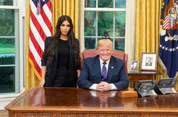 Donald Trump, Kim Kardashian