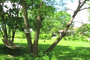 Stary dom z bali z kamienn� podmur�wk�: jak wygl�da po remoncie