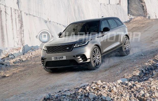 Range Rover Velar | Duży wyciek zdjęć!