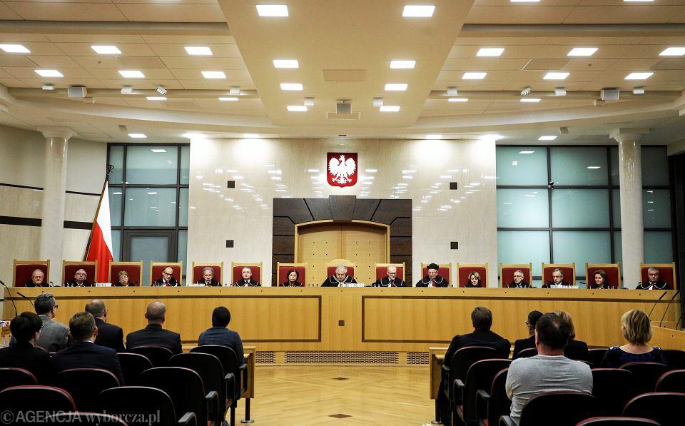 Trybunał Konstytucyjny wydał wyrok ws. reprywatyzacji w Warszawie