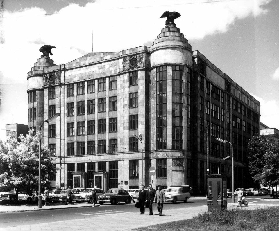 Dom Pod Orłami przy Jasnej 1, w którym działał III Oddział Narodowego Banku Polskiego