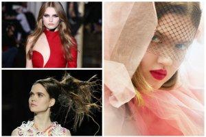 Najbardziej spektakularne makija�e i fryzury Tygodnia Haute Couture (Dior, Chanel, Gaultier...)