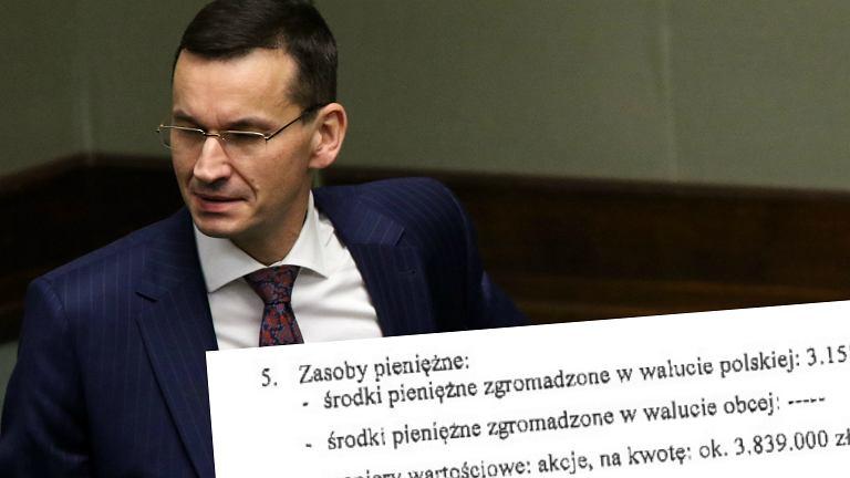 Wicepremier , minister rozwoju Mateusz Morawiecki