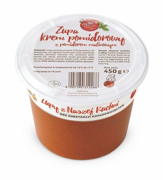 Znalezione obrazy dla zapytania zupa z biedronki