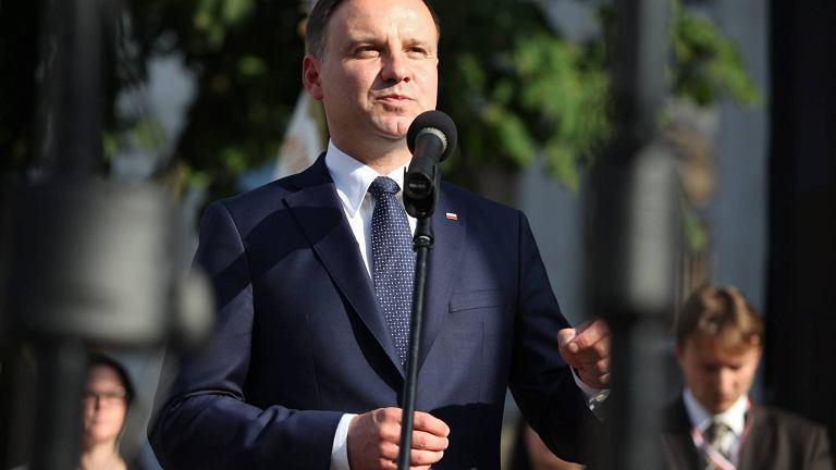 Andrzej Duda w Radomiu