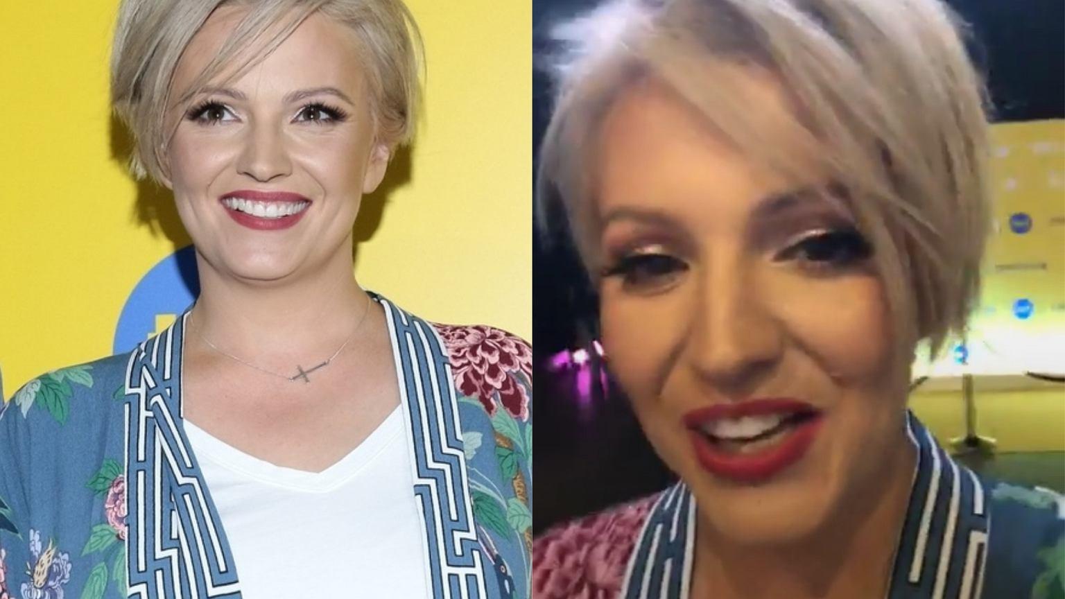 Na ramówce TVN-u Dorota Szelągowska pojawiła się w pełnym makijażu. Ale najpierw pokazała się BEZ. Różnica dość widoczna