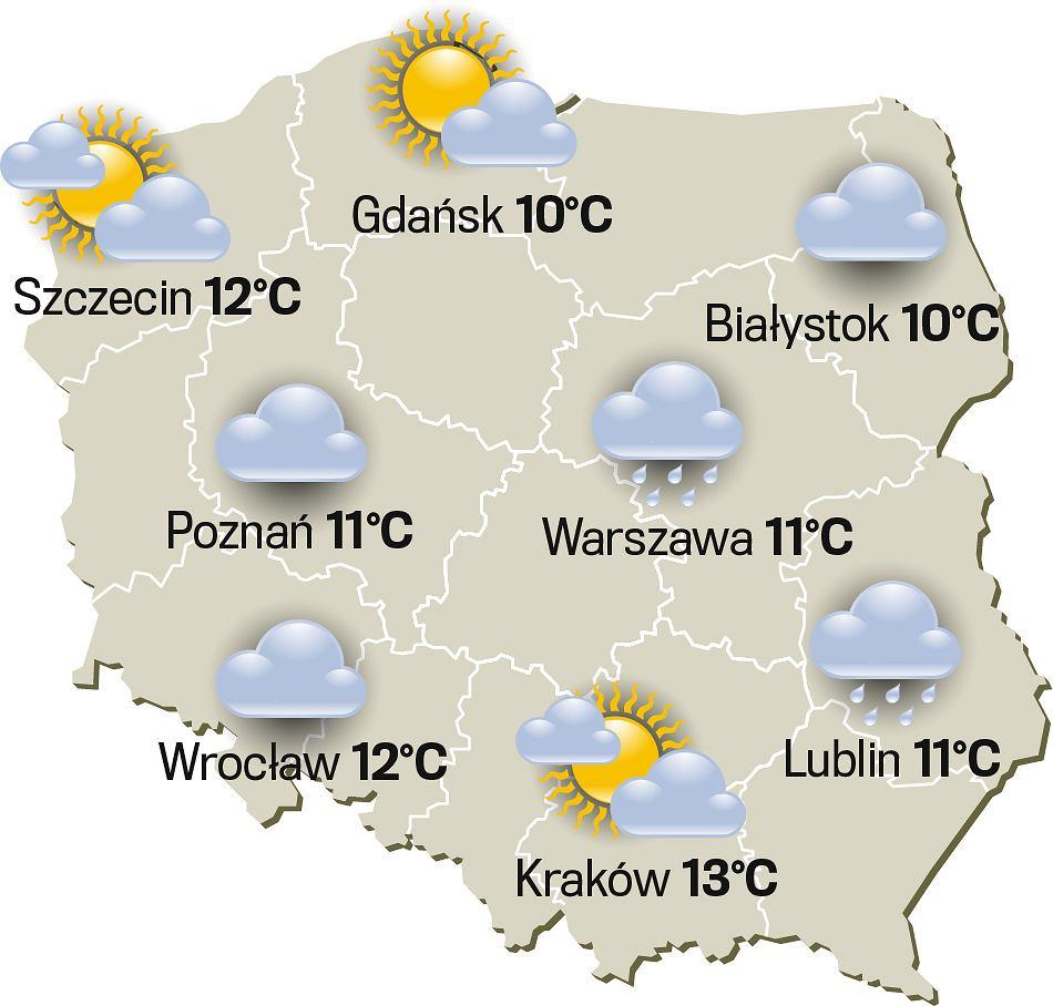 Pogoda na 1 maja