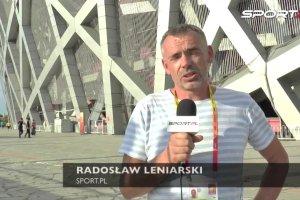 Radosław Leniarski z Pekinu: Cichan odpadł i ja się cieszę