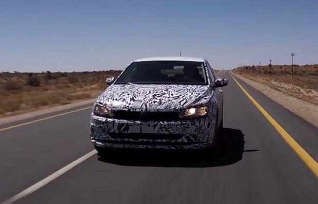 Prototypy   Nowy VW Polo   Mamy pierwszy film!