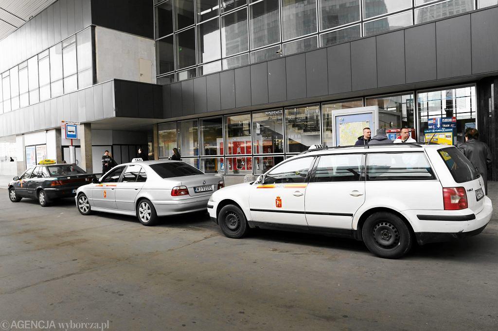 Taksówki