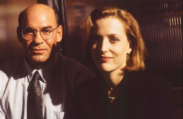 Mitch Pileggi i Gillian Anderson