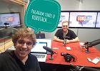 Karol Jurga i Vadym Melnyk w studiu podcastowym tokfm.pl