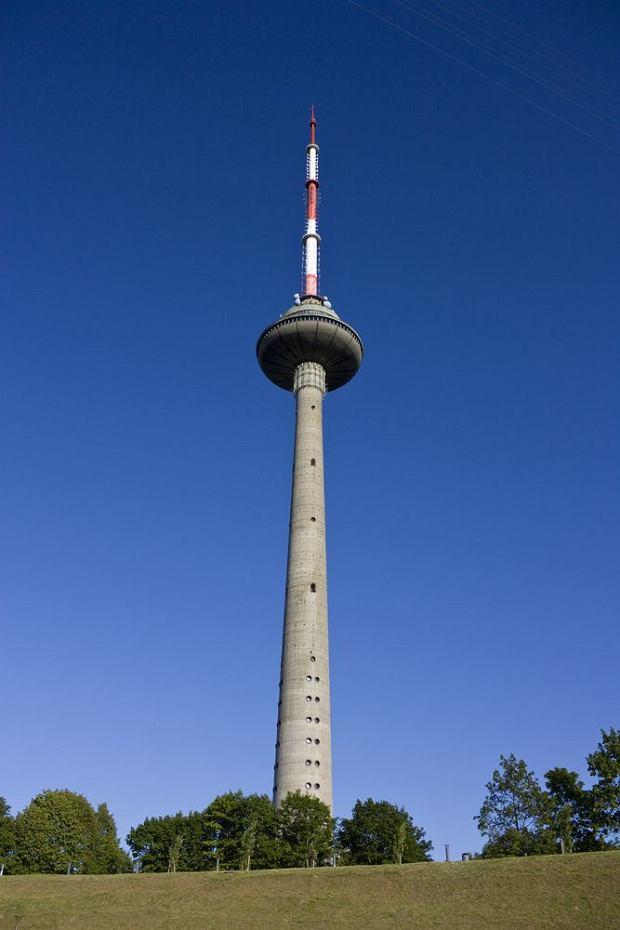 Wieża telewizyjna w Wilnie, Litwa/ fot. Shutterstock