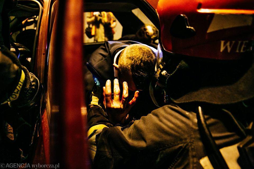 Zdjęcie numer 33 w galerii - Symulacja karambolu z kilkudziesięcioma rannymi. Duże ćwiczenia w tunelu pod Martwą Wisłą [ZDJĘCIA]
