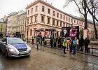 Protestowali przeciw antyaborcyjnej wystawie przy ul. Grodzkiej