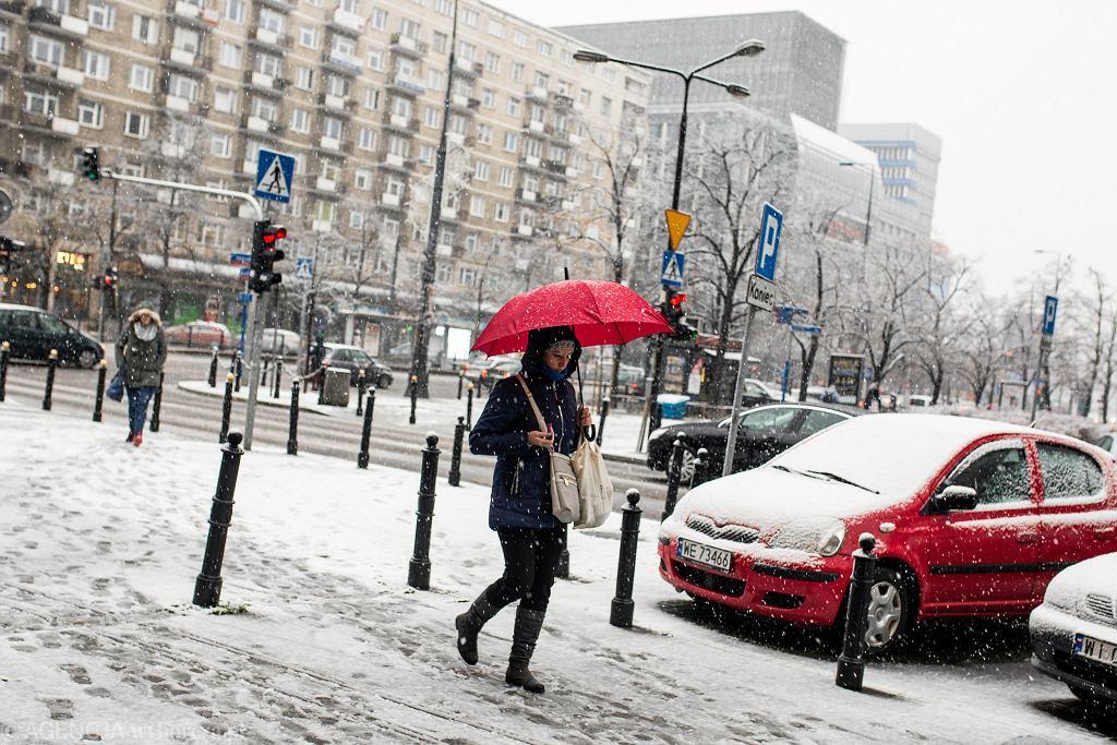 Zima w Warszawie