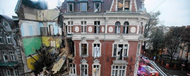 Wybuch w kamienicy w centrum Katowic. Z trzema osobami nie ma kontaktu