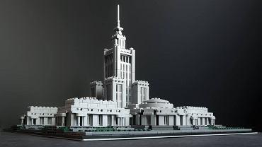 Pałac Kultury z klocków Lego