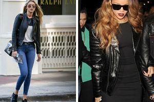 Skórzana kurtka to inwestycja na lata. Założysz ją do jeansów i letniej sukienki