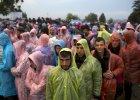 Uchodźcy na chorwackiej granicy