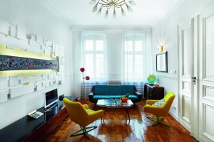 Mieszkanie w duchu Vintage