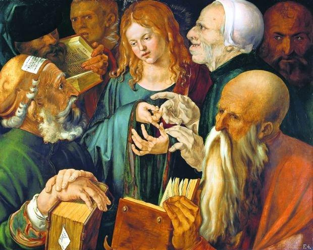 Znalezione obrazy dla zapytania znalezienie jezusa obrazy mistrzów