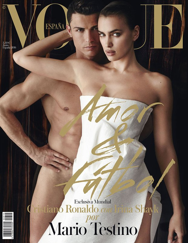 Cristiano Ronaldo, Irina Shayk, Vogue