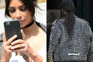Kolejny dzie�, kolejna okropna stylizacja Kim Kardashian. Tym razem przesz�a jednak sam� siebie. Celebrytka za�o�y�a spodenki kolarza, kt�re przypomina�y bielizn� wyszczuplaj�c�, Efekt? Jest gorzej ni� my�licie.