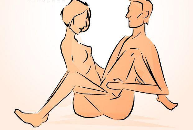 Pozycja seksualna: zaplątany fotel