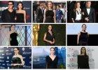 Angelina Jolie po latach wróciła do swojego ulubionego koloru - głębokiej czerni. Jednak nie jest to czerń seksowna i drapieżna, ale wyrafinowana i pełna klasy [ZDJĘCIA]