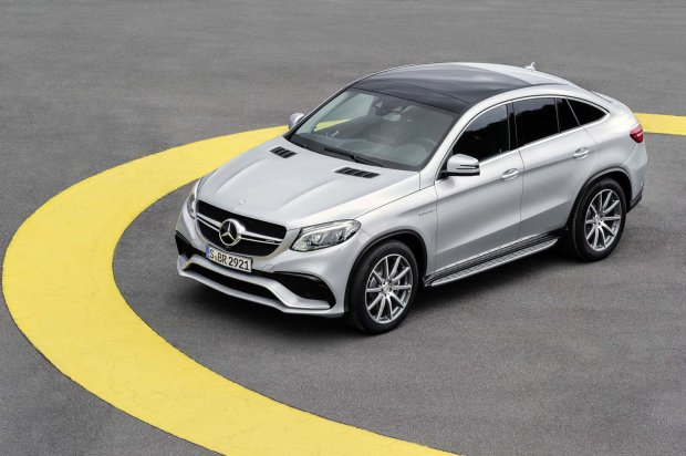 Salon Detroit 2015 | Mercedes-AMG GLE 63 Coupe 4Matic | Jest moc