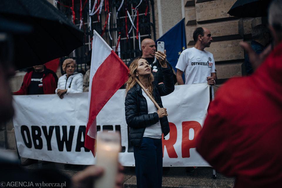 Zdjęcie numer 10 w galerii - Protest przed sądem w Gdańsku.