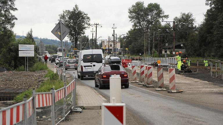 Budowa węzła drogowego na drodze krajowej numer 47 popularnie zwanej Zakopianką