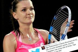 """Australian Open. Zachwyty formą Agnieszki Radwańskiej na Twitterze. """"Ma sznasę na wygranie tytułu"""""""
